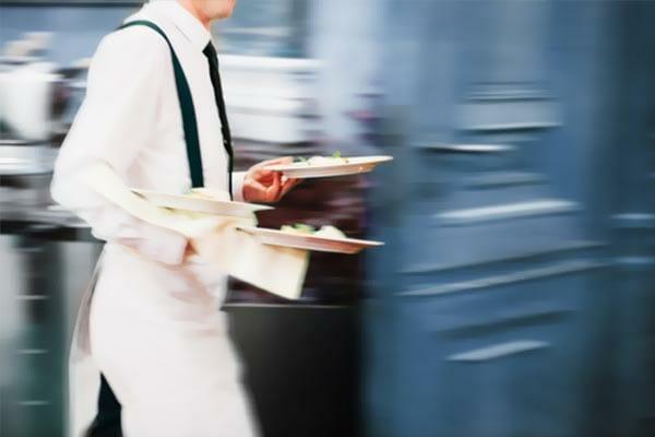 service en salle restaurant